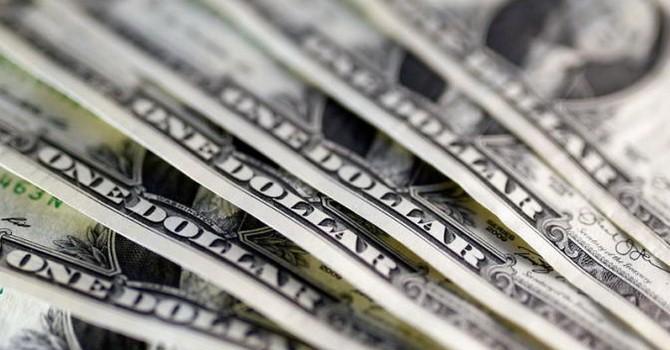 Đồng USD rớt xuống thấp nhất 6 tuần