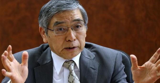 Thống đốc Ngân hàng Trung ương Nhật lo ngại về triển vọng nền kinh tế