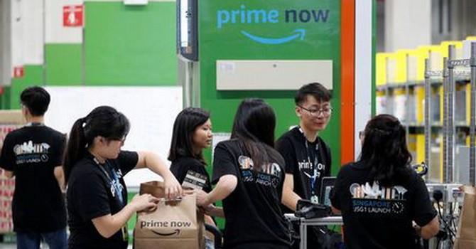 Amazon khó phát triển tại Singapore vì nước này quá bé?