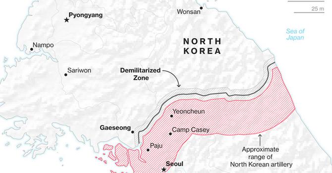 Ông Donald Trump chuẩn bị đến thăm khu phi quân sự biên giới Triều Tiên – Hàn Quốc?