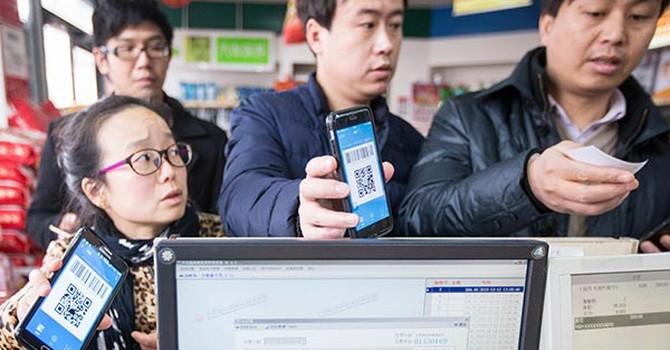 Trung Quốc đang tiến rất nhanh đến một xã hội không dùng tiền mặt