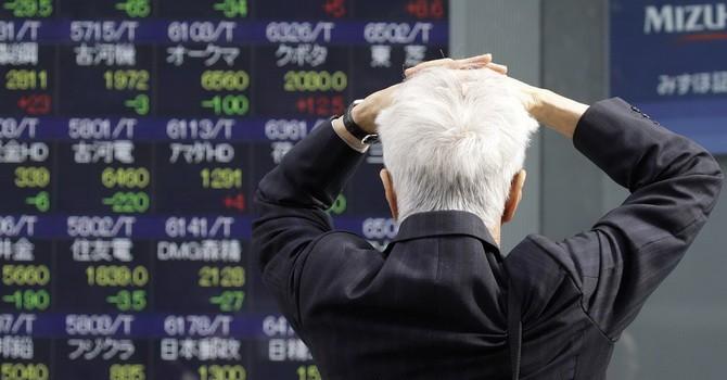 Chứng khoán châu Á đồng loạt lao dốc mạnh