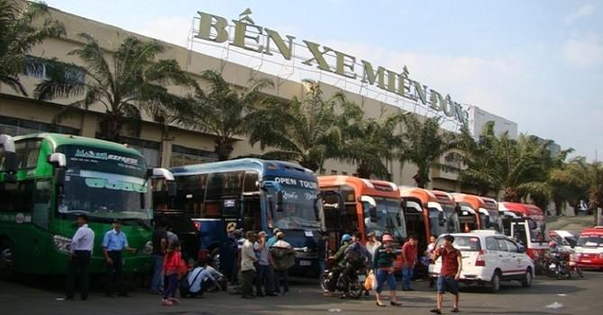 TP.HCM: Giá vé xe khách tăng tới 40% dịp 30/4