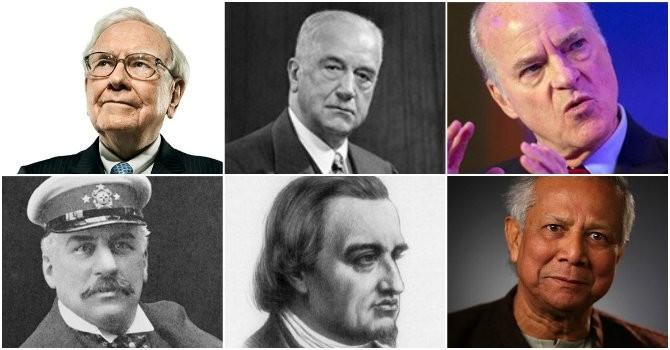 6 người tiên phong vĩ đại nhất lịch sử tài chính thế giới