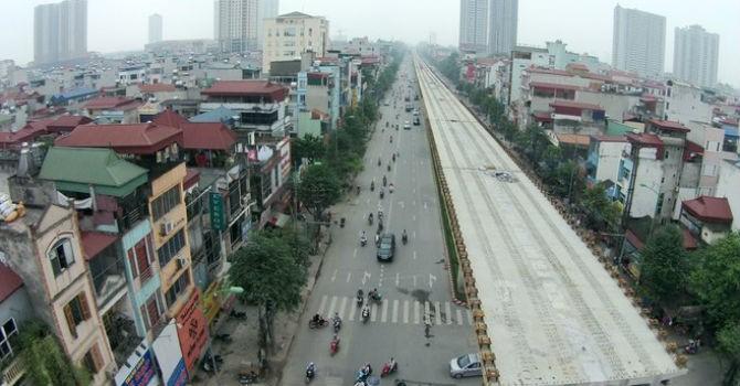 Tháng 3/2016, vận hành chính thức đường sắt Cát Linh - Hà Đông