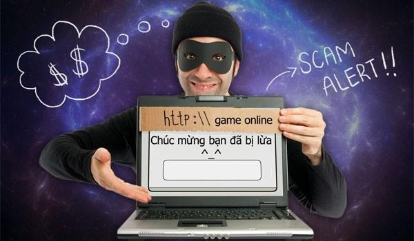 Lập website giả mạo, lừa đảo người chơi game