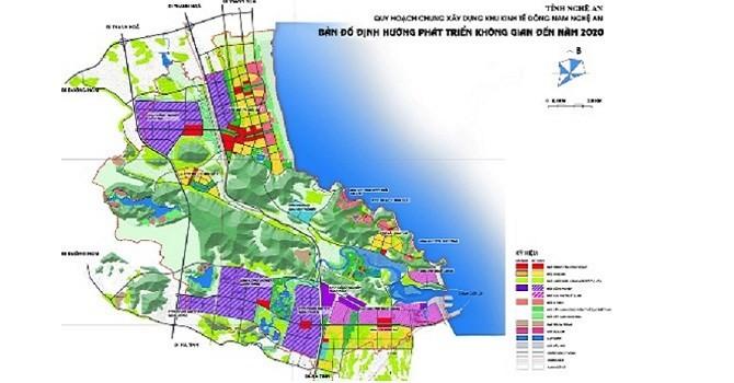 Khu kinh tế Đông Nam Nghệ An mở rộng thêm 720ha