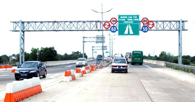 Sắp xây 2 trạm dừng nghỉ trên cao tốc TP.HCM - Trung Lương