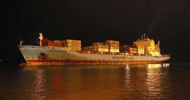 Hải Phòng: Đón tàu lớn nhất từ trước đến nay vào cảng làm hàng