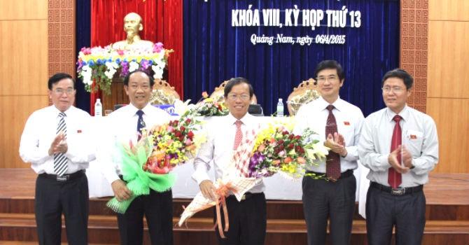 Quảng Nam có chủ tịch tỉnh mới
