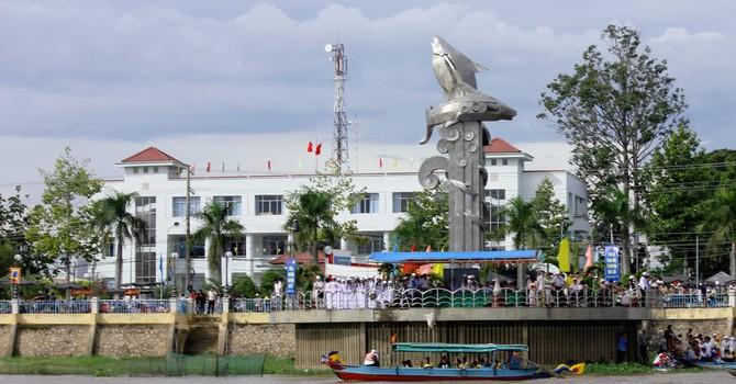 Thành phố Châu Đốc chính thức lên đô thị loại II