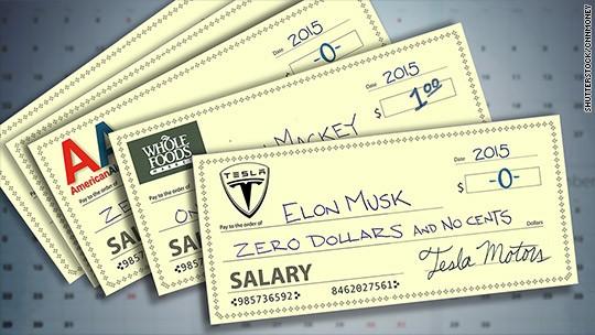 Vì sao CEO Mỹ đua nhau nhận lương 1 USD?