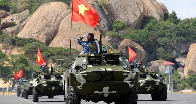 Dàn vũ khí trên bộ của Hải quân Việt Nam