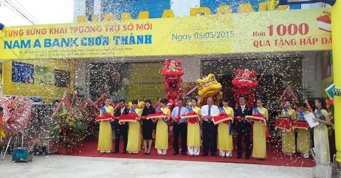 Nam Á Bank khai trương trụ sở mới tại Bình Phước