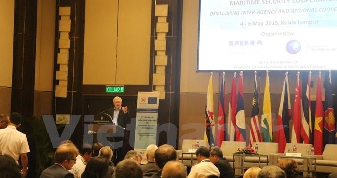 Đối thoại ASEAN-EU đề cập đến vấn đề an ninh ở Biển Đông