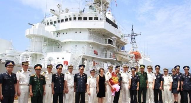 Tàu tuần tra Nhật Bản đến Đà Nẵng
