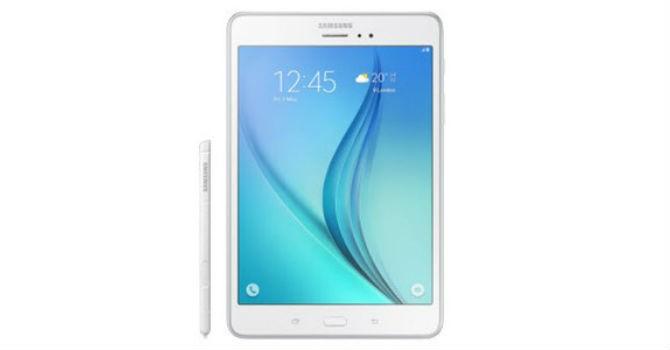 Máy tính bảng Samsung Galaxy A trình làng, có bút S Pen