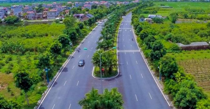 Làm đường nối vành đai V với QL 38B và cao tốc Hà Nội-Hải Phòng