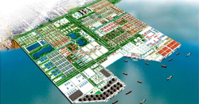 Texhong muốn xây dựng bến cảng tại khu công nghiệp Hải Hà