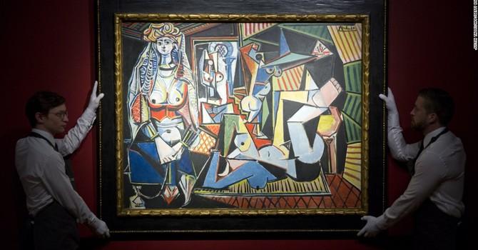 Tranh của Picasso được bán với giá kỷ lục 179 triệu USD
