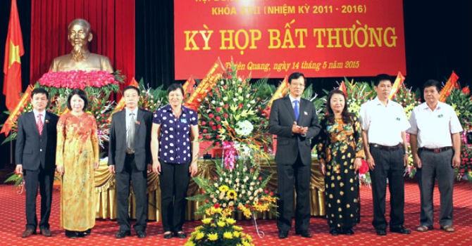 Tuyên Quang họp bất thường bầu Chủ tịch tỉnh