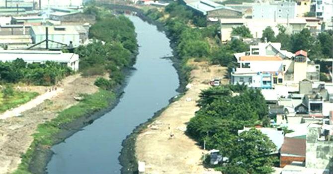 """TP.HCM: Chuyển hướng kênh Tham Lương để """"né"""" tuyến metro số 2"""