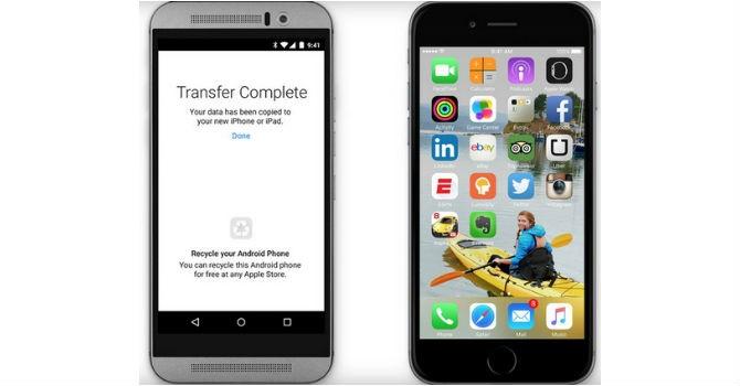 Apple giới thiệu ứng dụng giúp người dùng Android chuyển sang iPhone