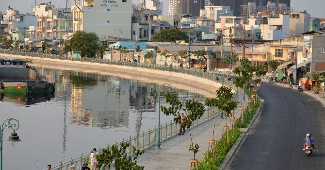 TP.HCM: Cấp giấy phép xây dựng cho dân dọc tuyến kênh Tân Hóa - Lò Gốm