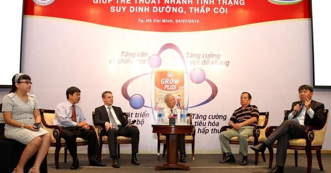 25% trẻ em Việt Nam dưới 5 tuổi bị suy dinh dưỡng thấp còi