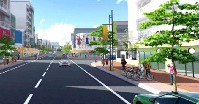 Đà Nẵng: Xây khu phố chuyên doanh dọc đường Lê Duẩn