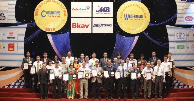 Nhãn hiệu Ngân hàng Bắc Á nhận giải thưởng của Hội sở hữu trí tuệ Việt Nam