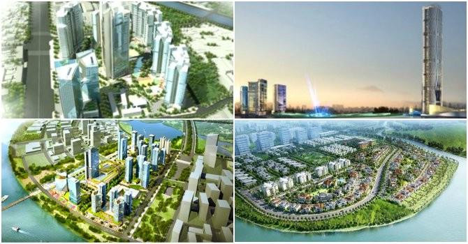 """Địa ốc 24h: Các """"siêu đô thị"""" lũ lượt về tay các ông lớn bất động sản"""