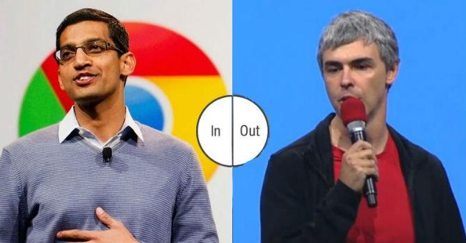 """Google """"lột xác"""" thành Alphabet, đưa Sundar Pichai lên làm CEO"""