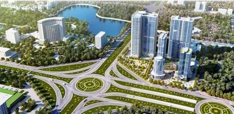 Sắp có khu đô thị gần 32ha cạnh Trung tâm Hội nghị Quốc gia