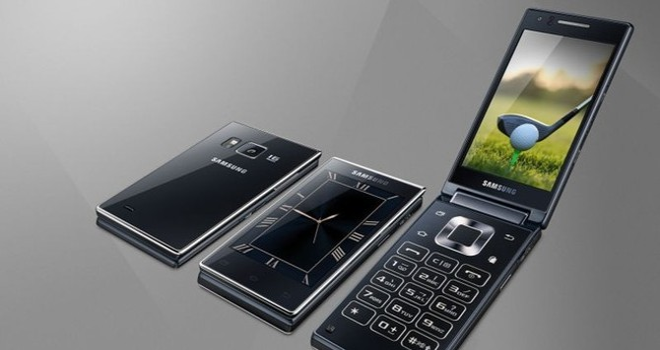 Smartphone nắp gập của Samsung ra mắt