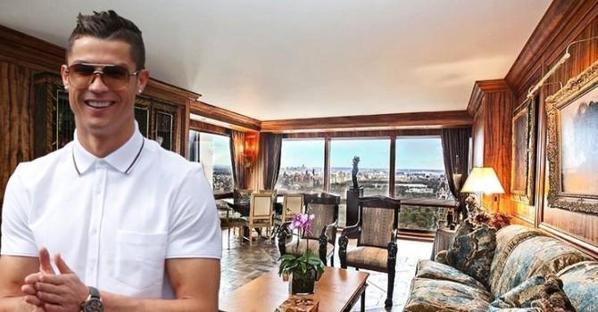 Căn hộ xa hoa 18,5 triệu USD của danh thủ Cristiano Ronaldo