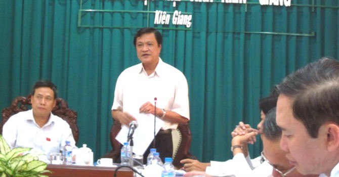 Kiên Giang có Phó chủ tịch tỉnh mới