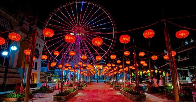 100 nghệ nhân Hội An chuẩn bị phố đèn lồng kỷ lục tại Asia Park