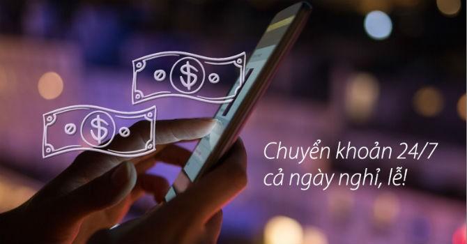 Tiện lợi như... Mobile Banking