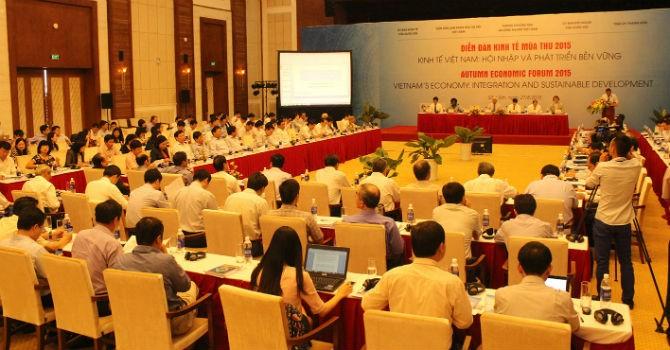 Ấn tượng một ngày tại Diễn đàn Kinh tế mùa Thu 2015