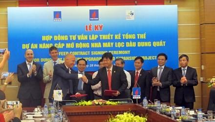 Hơn 1,8 tỷ USD nâng cấp Nhà máy lọc dầu Dung Quất