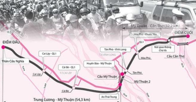 Hoàng An xin rút vốn, cao tốc 15.000 tỷ Trung Lương-Mỹ Thuận gặp trục trặc
