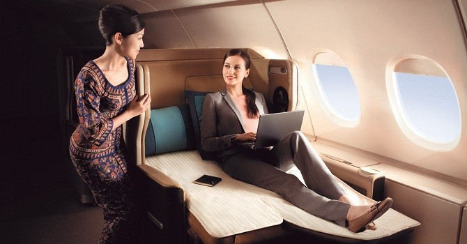 5 hãng hàng không tốt nhất dành cho doanh nhân