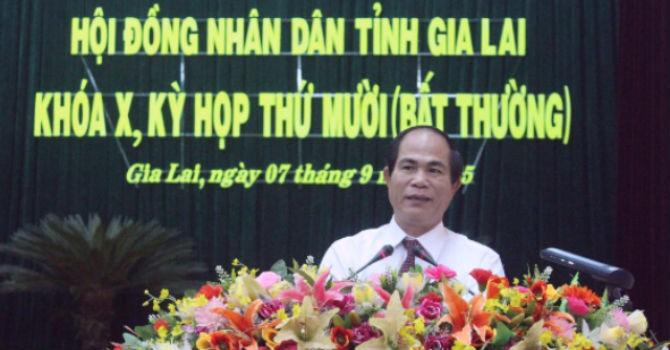 Gia Lai họp bất thường bầu chủ tịch tỉnh