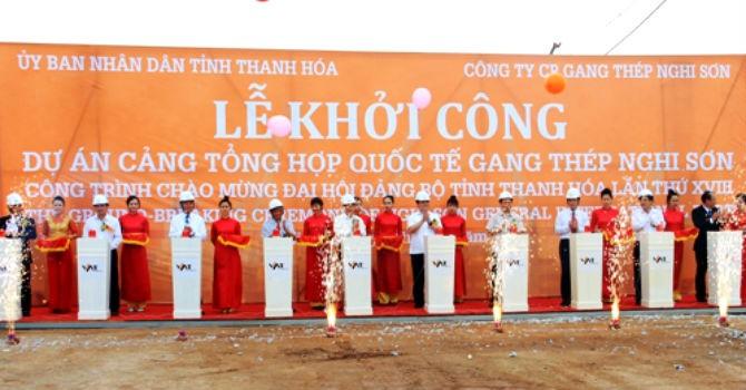 Gần 6.000 tỷ đồng xây Cảng tổng hợp quốc tế gang thép Nghi Sơn