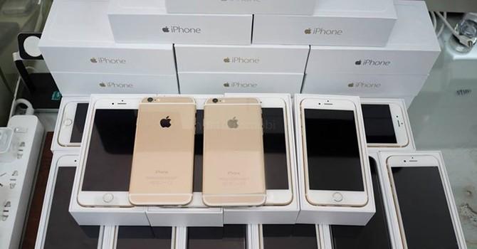 Apple ngưng bán iPhone 5S/6 gold, thị trường Việt Nam tăng giá bán
