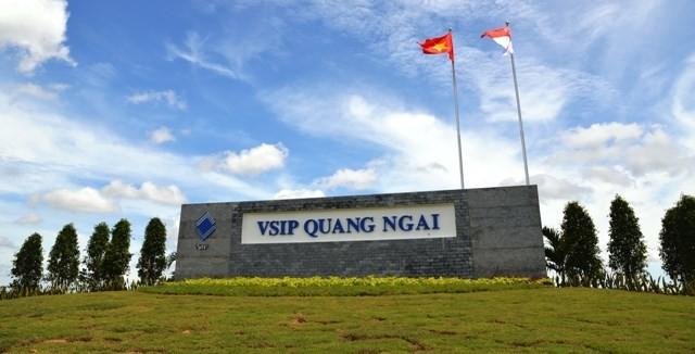 Quảng Ngãi tìm cơ chế đặc cách khu công nghiệp VSIP hơn 1.200ha
