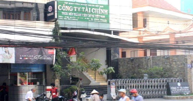 Sáp nhập Công ty Tài chính Cao su Việt Nam vào Công ty mẹ