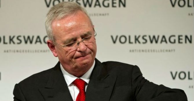 CEO Volkswagen từ chức