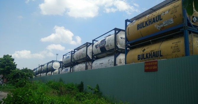 Kiến nghị dời bãi hóa chất tại cảng Tân Cảng - Cát Lái